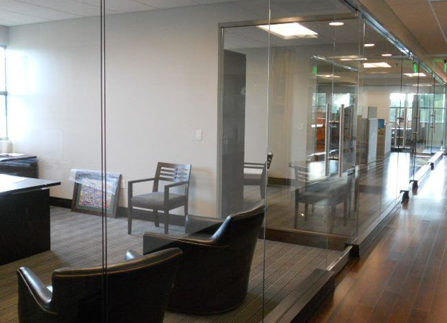 interior glass office system